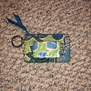 Vera Bradley Card Holder and Coin Purse